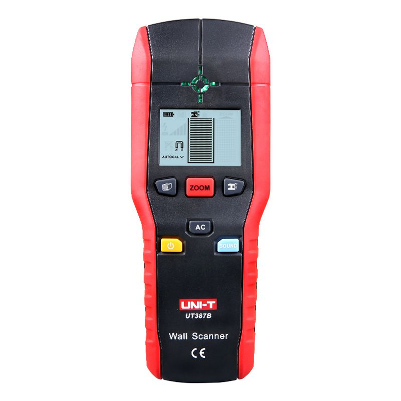 Detector pentru metal, tensiune si lemn UNI-T UT387B, alimentare 9V