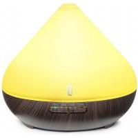 Difuzor aroma ultrasunete TaoTronics, 13 W, 300 ml, 30 ml/h, LED 7 culori, oprire automata