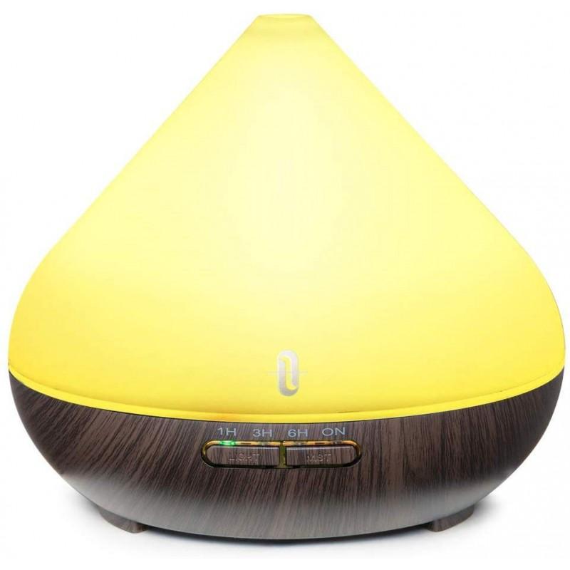 Difuzor aroma ultrasunete TaoTronics, 13 W, 300 ml, 30 ml/h, LED 7 culori, oprire automata 2021 shopu.ro