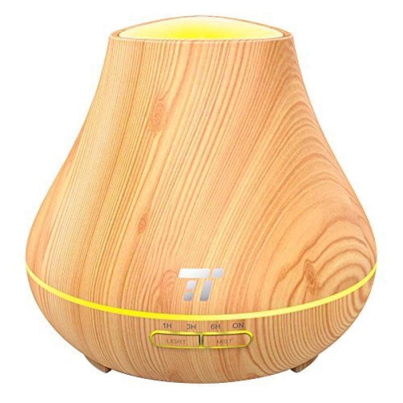 Difuzor aromaterapie ultrasunete TaoTronics, 13 W, 400 ml, 30 ml/h 2021 shopu.ro