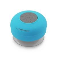 Boxa bluetooth Waterproof Sprinkle Esperanza, 3 W, 10 m, 300 mAh, Albastru