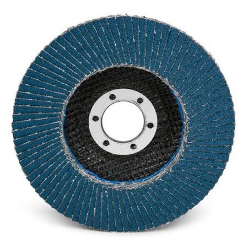 Disc abraziv lamelar cu zirconiu Proline, 180 mm, granulatie 60 2021 shopu.ro