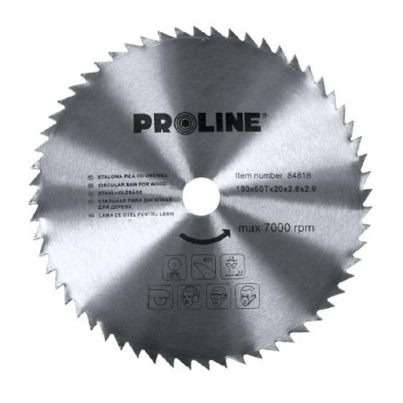 Disc circular Proline, pentru lemn, 250 mm/60 D