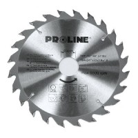 Disc circular pentru lemn Proline, dinti vidia, 200 mm/24 D