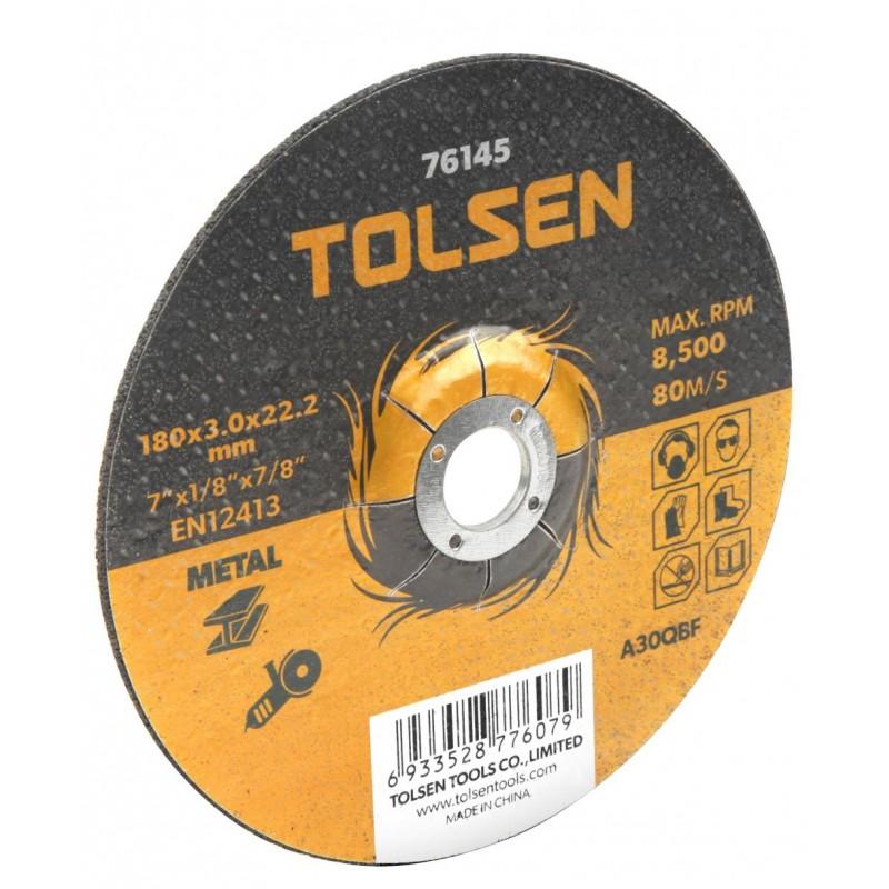 Disc taiere metal cu centru coborat Tolsen, 230 x 3 x 22 mm 2021 shopu.ro