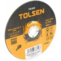 Disc taiere piatra cu centru coborat Tolsen, 180 x 3 x 22 mm