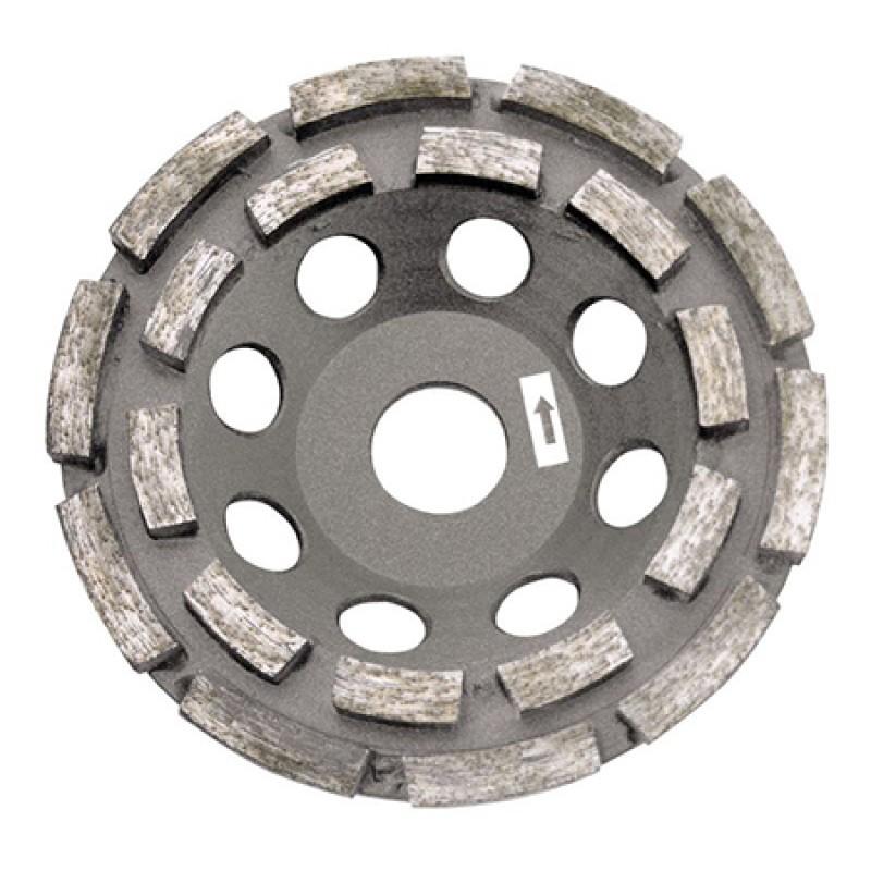 Disc diamantat dublu segmentat Proline pentru slefuire, 180 mm