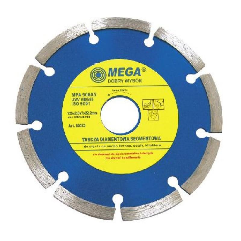 Disc diamantat segmentat Mega, 125 mm 2021 shopu.ro