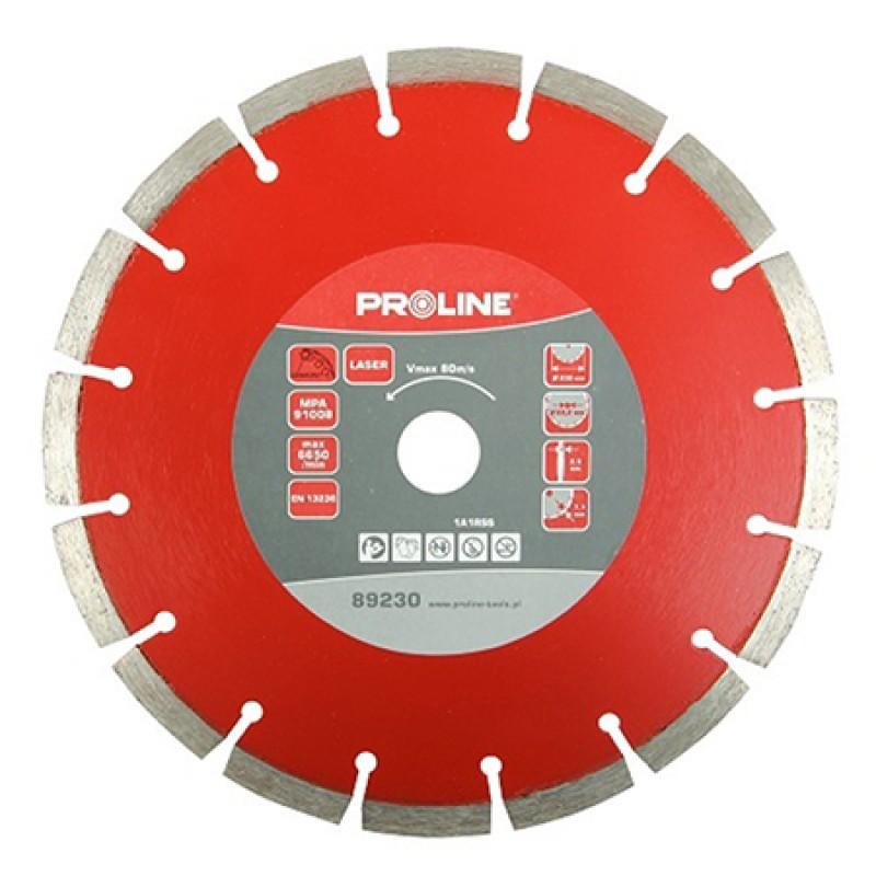 Disc diamantat segmentat laser Proline, universal, 180 mm shopu.ro