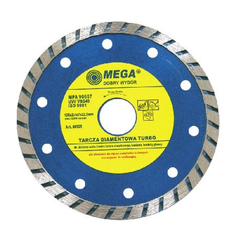 Disc diamantat turbo Mega, 115 mm 2021 shopu.ro
