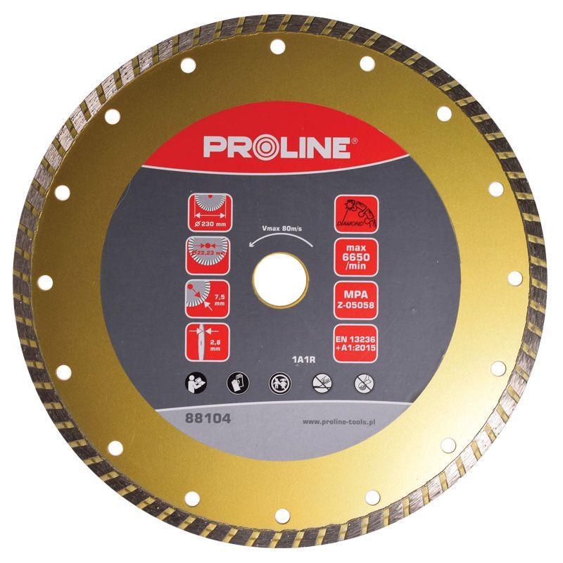 Disc diamantat turbo super dur Proline, 115 mm shopu.ro