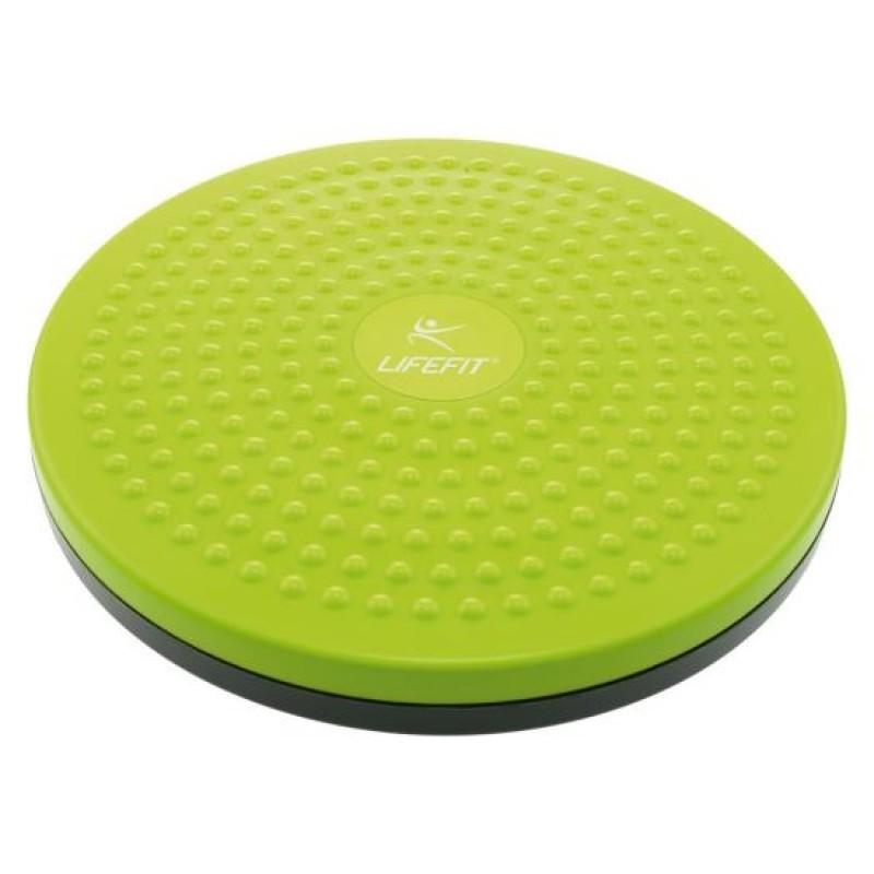 Disc rotativ pentru masaj DHS, 25 cm, PVC, maxim 100 kg, Verde 2021 shopu.ro