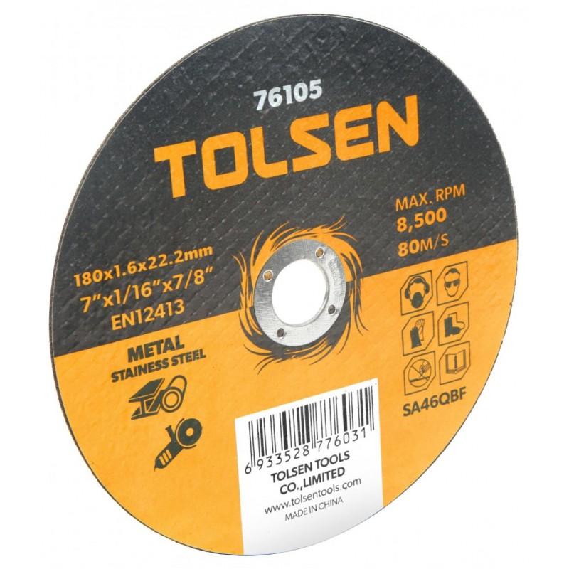 Disc plat de taiere metal/otel inoxidabil Tolsen, 230 x 2 x 22 mm shopu.ro