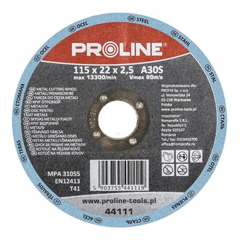 Disc polizare depresat Proline, 230 x 6.0 mm 2021 shopu.ro