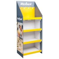 Display Stand Rebel, carton, 146.5 x 39.5 x 60 cm