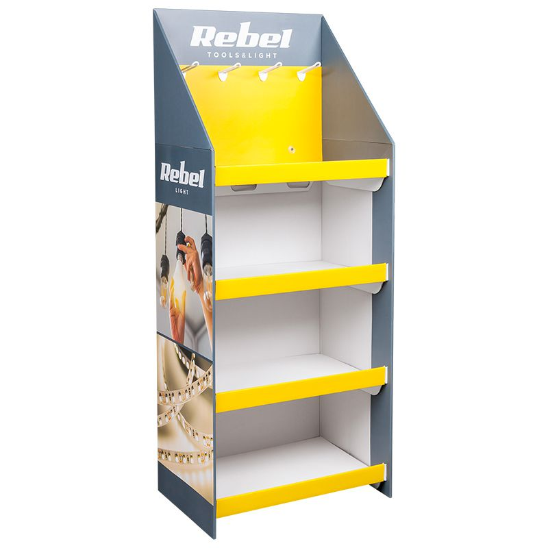 Display Stand Rebel, carton, 146.5 x 39.5 x 60 cm 2021 shopu.ro