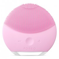 Dispozitiv de curatare a tenului Foreo Luna Mini 2, functie T-Sonic, Pearl Pink