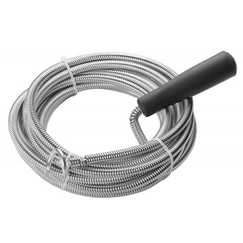 Dispozitiv curatare canale scurgere Tolsen, 9 mm diametru, 5 m lungime shopu.ro