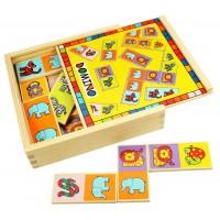Domino pentru copii, 28 piese, 3 - 7 ani
