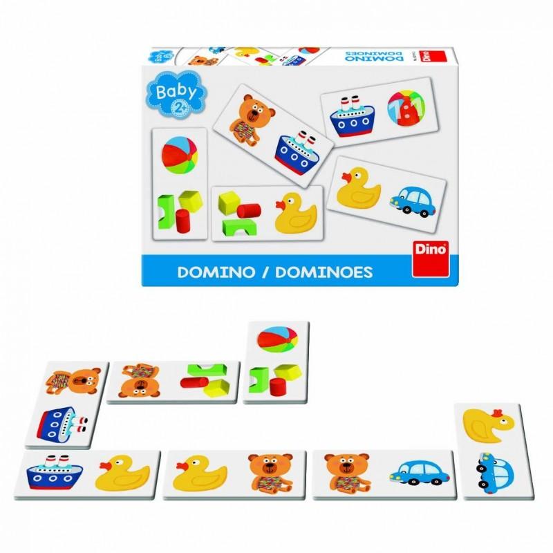 Domino Primele mele jucarii, 30 x 30 x 30 cm, 2 - 4 ani 2021 shopu.ro