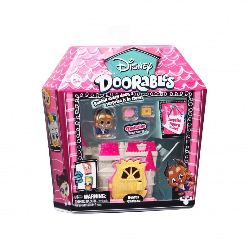 Mini set de constructie Beast Chateau Doorables S1, 2 figurine, accesorii incluse 2021 shopu.ro