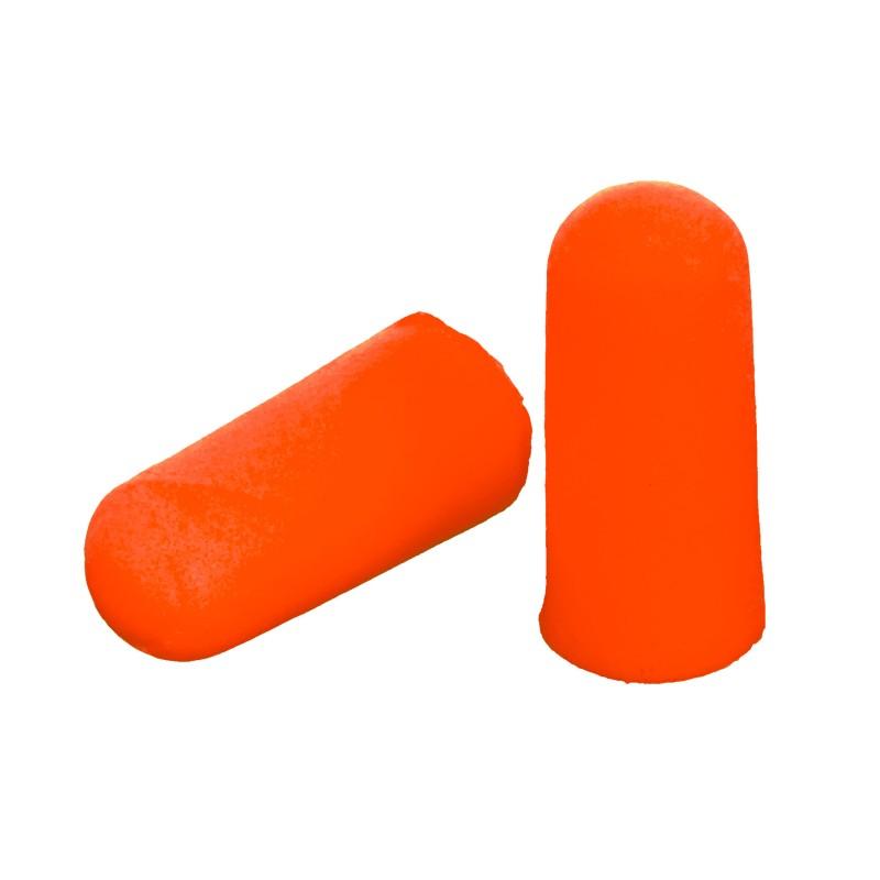 Set 100 dopuri antifon din spuma Lahti Pro, portocaliu 2021 shopu.ro