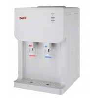 Dozator apa pentru birou Zass, 500 W, 5 l/h, sistem  filtrare, apa calda/apa rece, termostat automat