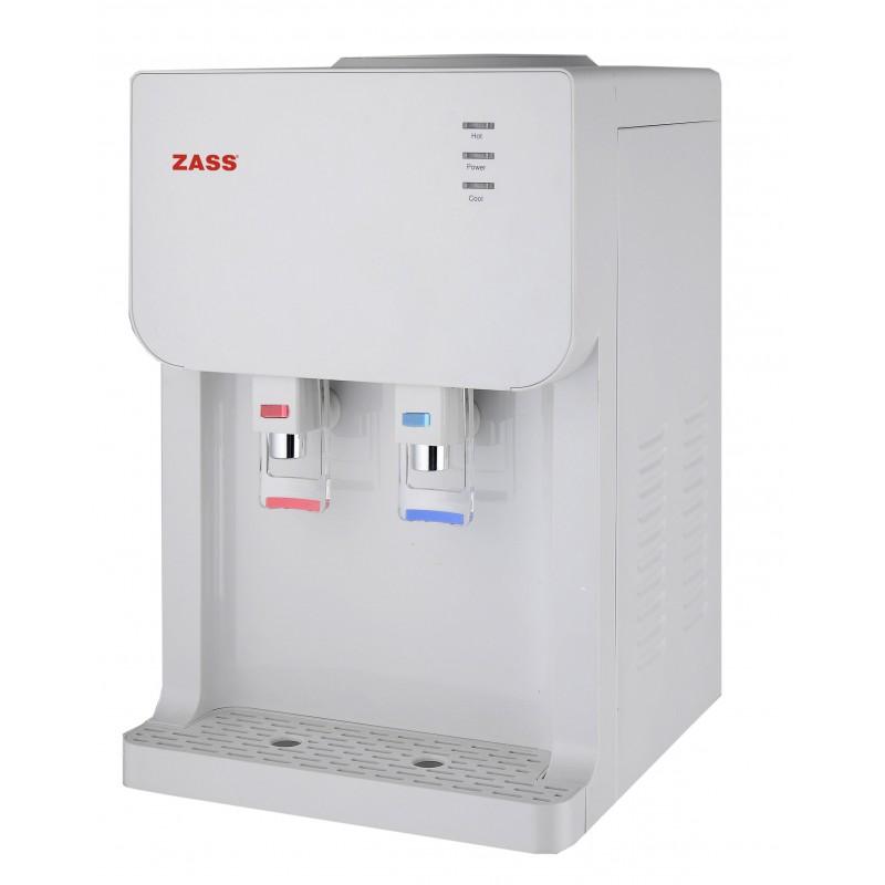 Dozator apa pentru birou Zass, 500 W, 5 l/h, sistem filtrare, apa calda/apa rece, termostat automat 2021 shopu.ro