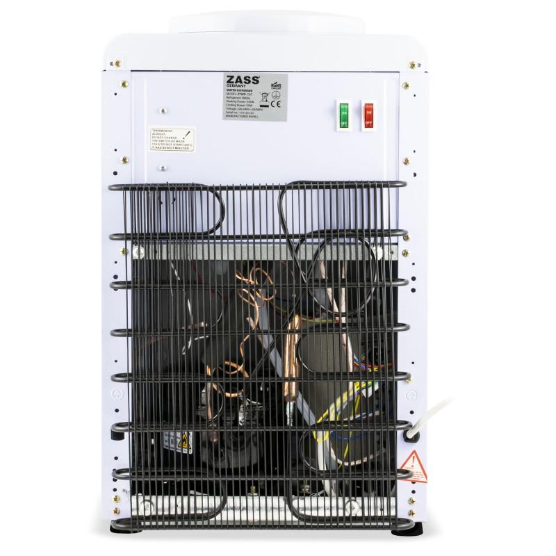 Dozator apa pentru birou Zass, compresor, 550 W, putere racire 90 W, bidoane 11 l/19 l
