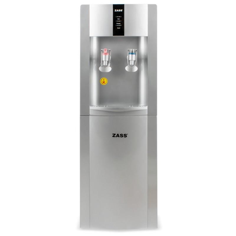 Dozator apa de podea Zass, conexiune la retea, apa calda/apa rece, gri 2021 shopu.ro
