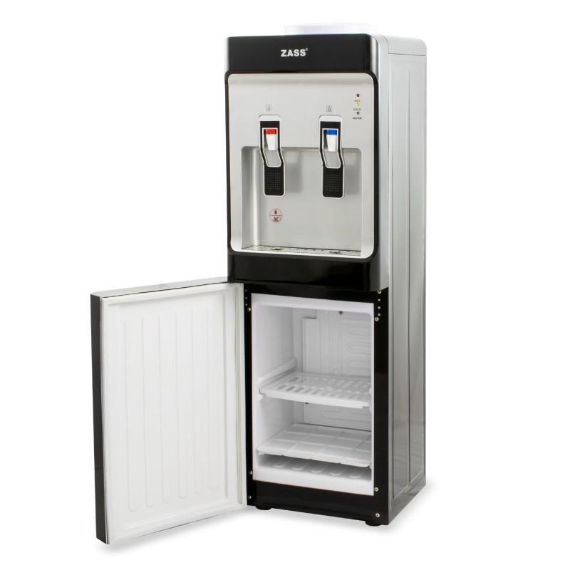 Dozator apa de podea Zass, 550 W, compresor si minifrigider