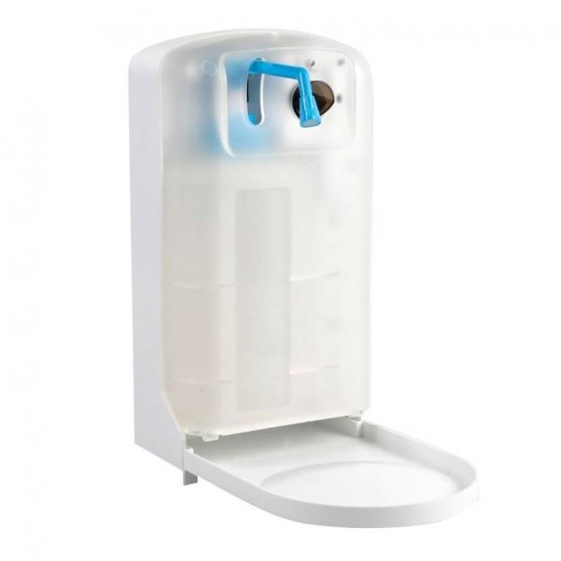 Dozator automat pentru sapun/dezinfectant Zakuro, 1 L, senzor infrarosu, tavita transparenta 2021 shopu.ro