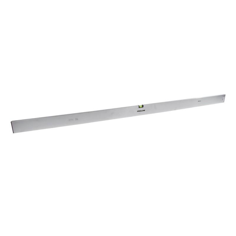 Dreptar aluminiu Proline, 2 bule, 2500 mm