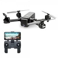 Drona SJRC Z5 GPS, 1080p, 400 m, 245 g, 1200 mAh, camera ajustabila, unghi larg, brate pliabile, active track, follow me, Negru