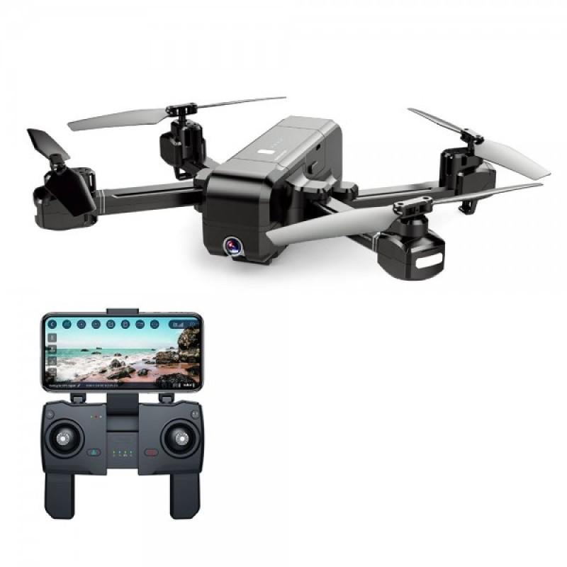 Drona SJRC Z5 GPS, 1080p, 400 m, 245 g, 1200 mAh, camera ajustabila, unghi larg, brate pliabile, active track, follow me, Negru 2021 shopu.ro
