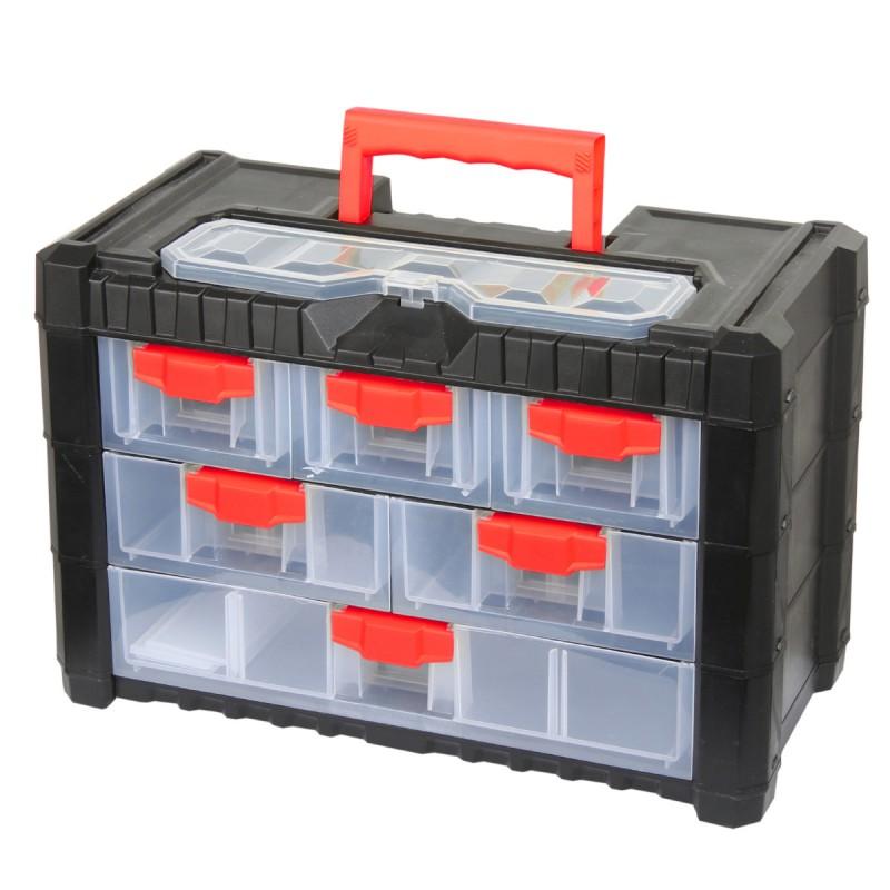 Dulap plastic modular Proline HD, 400 x 200 x 260 mm, 13 sertare 2021 shopu.ro