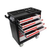 Dulap scule echipat Proline, 790 x 490 x 1010 mm, 7 sertare, 206 piese