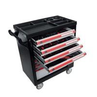 Dulap scule echipat Proline, 790 x 490 x 1010 mm, 7 sertare, 211 piese