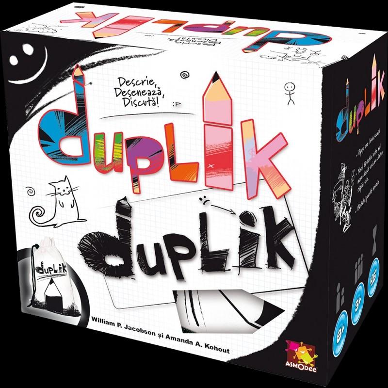 Joc de societate Duplik, 3-10 jucatori, 8 ani+