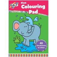 Prima carte de colorat Early Activities, 40 imagini haioase, 3 ani+