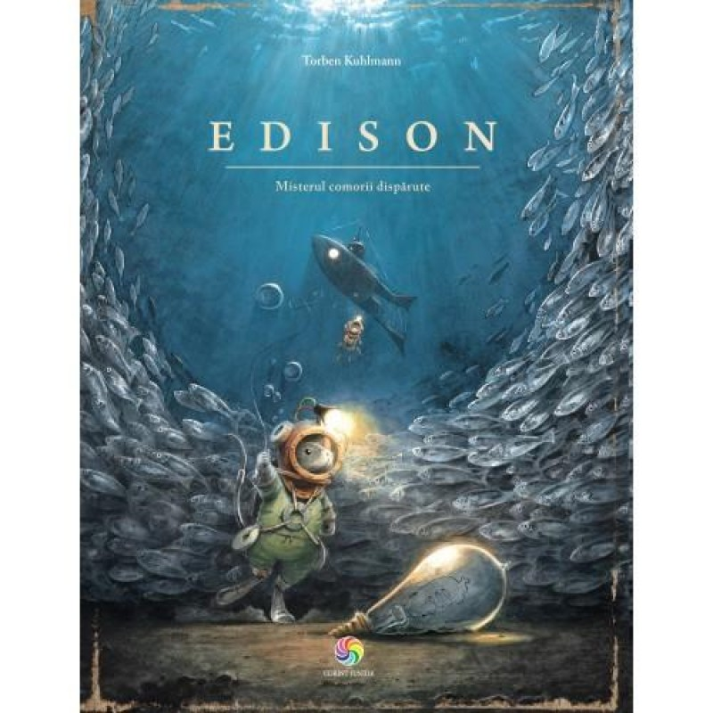 Misterul comorii disparute Edison 2021 shopu.ro