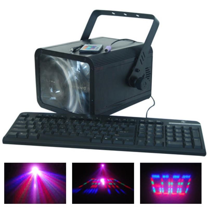Laser Moon Flower, conexiune PC, 196 LED-uri, 6 canale DMX 2021 shopu.ro