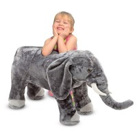 Elefant din plus, 43 x 94 x 33 cm