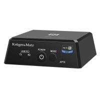 Emitator si Receptor Kruger Matz Bluetooth 4.0, Micro USB, iesire optica