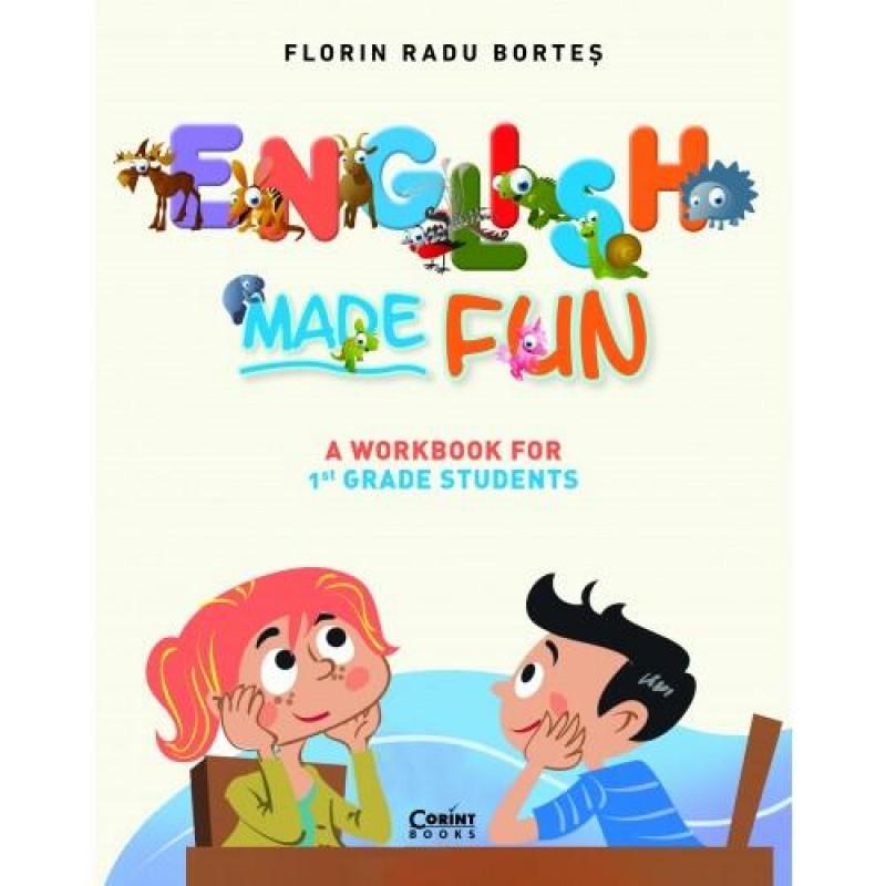 Carte pentru copii English made fun Corint, 88 pagini, 7 ani+ 2021 shopu.ro