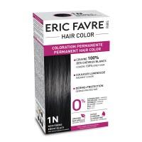 Vopsea de par permanenta Eric Favre Hair Color, 1N, Negru abanos