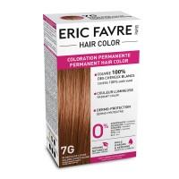 Vopsea de par permanenta Eric Favre Hair Color, 7G, Blond Dore aramiu