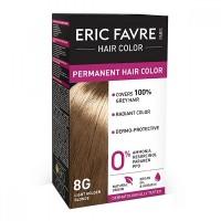 Vopsea de par permanenta Eric Favre Hair Color, 8G, Blond/Auriu deschis