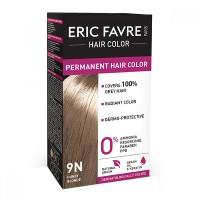 Vopsea de par permanenta Eric Favre Hair Color, 9N, Blond miere