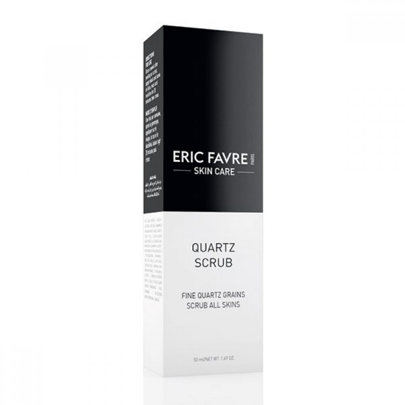Scrub exfoliant Quartz Eric Favre Skin Care, 50 ml 2021 shopu.ro